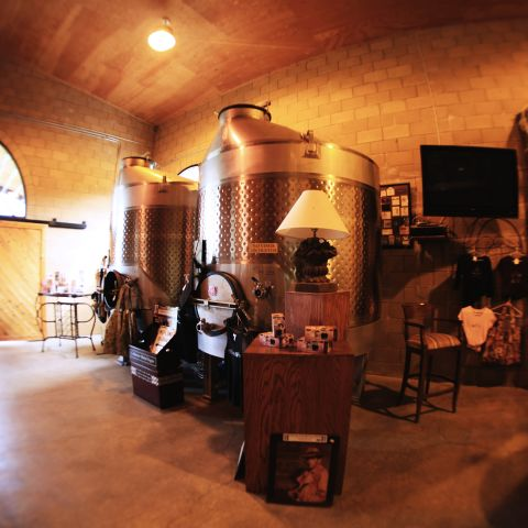 Zin Alley winery lobby