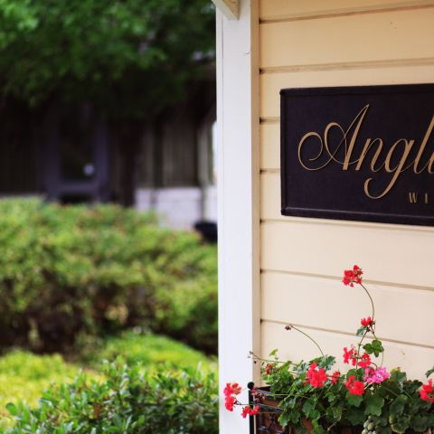 Anglim winery sign outdoors